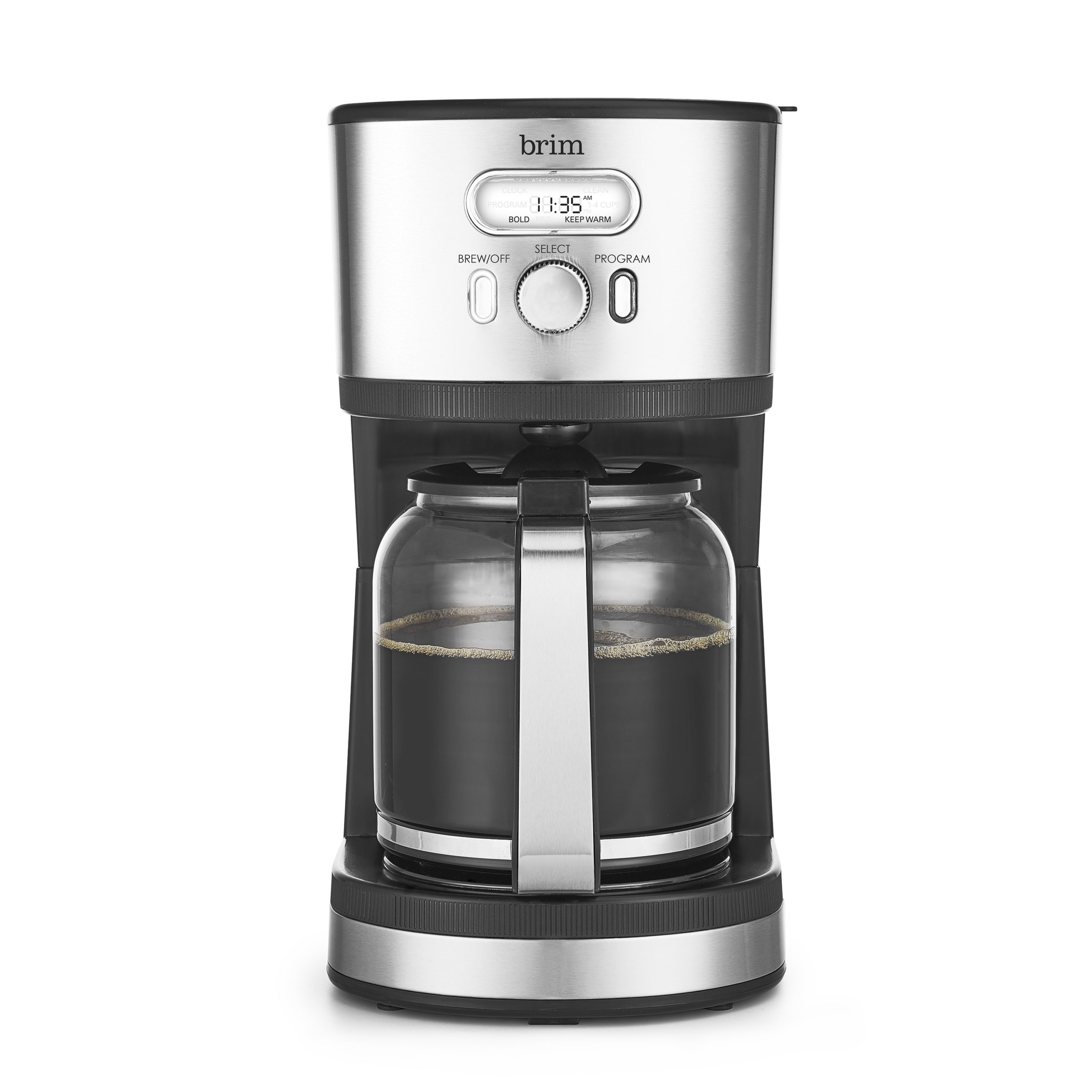 14 Cup Programmable Coffee maker, Stainless Steel